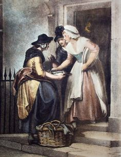 Cries of London print - late 18th   century -  Francis Wheatley's