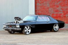 ◆ Visit MACHINE Shop Café... ◆ ~ Aussie Custom Cars & Bikes ~ (1971-74 HQ Holden GTS Monaro)