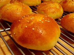 Pardon My Crumbs: Small Bites for the Big Game #2: Homemade Brioche Burger Buns