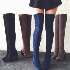 ISO LF thigh high boots‼️ Absolutely in love with these!! Please let me know if you have them, if someone else has them, or even what brand they are! Over the knee LF boots in any color LF Shoes Over the Knee Boots