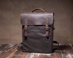 waxed canvas bag – Etsy IN