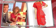 Want to know where Kate Garraway got her dress from on Good Morning Britain? Style on Screen can tell you! Kate Garraway, Good Morning Britain, Short Sleeve Dresses, Dresses With Sleeves, Asos Dress, Bird Prints, Summer Dresses, Style, Fashion
