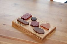 Little Shapes Tray by Woodblends on Etsy