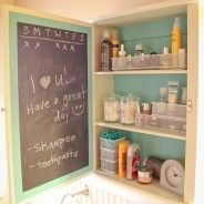 How to make a cute medicine cabinet!