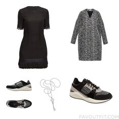 Closet Advice Including Lattori Dress Balenciaga Geox Sneakers And Black Shoes From October 2015 #outfit #look