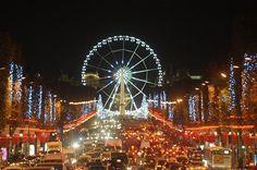 Champs Elysees Christmas lighting