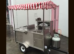 Choose your ultimate food cart, catering anywhere from a Confectionery stand, to Hot Dog, BBQ Carts Food Stall Design, Food Cart Design, Food Truck, Food Cart Business, Chef Pictures, Food Kiosk, Taco Stand, Hot Dog Cart, Hot Dog Stand