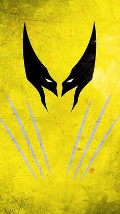 Superhero Minimalist Poster Wolverine