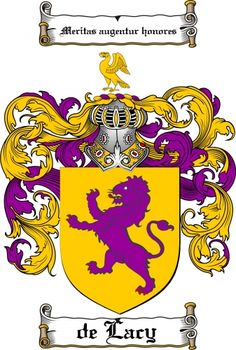 Delacy Coat of Arms Delacy Family Crest Instant Download - for ...