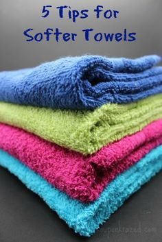 5 Tips for Softer Towels