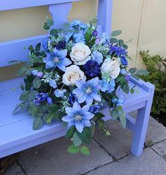 Funeral, Floral Arrangements, Diy And Crafts, Floral Wreath, Bouquet, Wreaths, Bridal, Flowers, Home Decor
