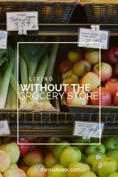 Could you live without the grocery store? Sure you could! Decrease your dependence on a broken system by implementing these 20 tips to live without the grocery store.