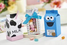 Discover what you can make using your FREE milk box carton maker in our April issue, out now! Pic: cliqq.co.uk