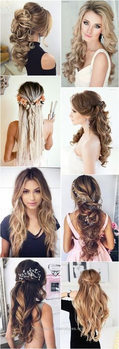 Adorable Wedding Hairstyles » 18 Creative and Unique Wedding Hairstyles for Long Hair » ❤️ See more: www.weddinginclud…  The post  Wedding Hairstyles » 18 Creative and Uni ..