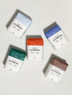 MPREIS Alpmehl – moodley brand identity