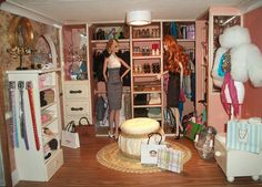 1/6 Scale Dressing Room