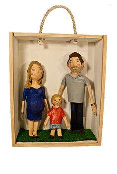 Family portraits : Retratos de Família by atelier Monstros