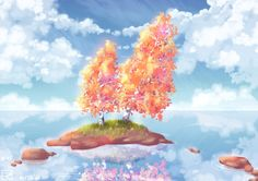 Place of calm by Rina-from-Shire.deviantart.com on @DeviantArt