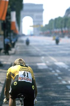 'Ah, I remember you: you're the guy who lost the Tour by eight seconds,' a cycling fan once asked Fignon. The Frenchman, responded with the acerbic line: 'No monsieur, I'm the guy who won it twice'.