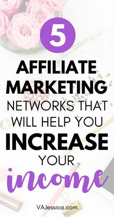 Want to make money with affiliate marketing? One of my best affiliate marketing tips is to join excellent affiliate marketing networks, and in this post I reveal my top five affiliate networks. Increase your income (side hustle or full time!) with thes Affiliate Marketing, Marketing Program, Digital Marketing Strategy, Make Money Blogging, Make Money Online, How To Make Money, Blogging Ideas, Make Money Today, Earn Money