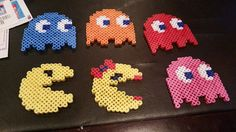 Pac Man and Ghosts Set by CreationsbySarahS on Etsy