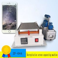 275.48$  Buy here - http://aligxf.worldwells.pw/go.php?t=32704233164 - 2PC  Built-in Vacuum Pump Mobile Phone LCD Touch Screen Separator Machine/ Seperator to Repair  for iPhone,Samsung