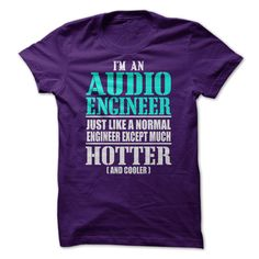 Im An Audio Engineer Just Like A Normal Engineer Except Much Hotter [And Cooler]