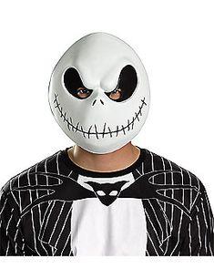 Nightmare Before Christmas Jack Skellington Vacuform Mask Halloween Costume Cool Halloween Masks, Spirit Halloween Costumes, Halloween Club, Creepy Costumes, Trendy Halloween, Christmas Costumes, Halloween Season, Spooky Halloween, Halloween Ideas