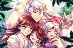 Sailor Moon, Seshomaru Y Rin, Inuyasha Fan Art, Inuyasha Funny, Inuyasha And Sesshomaru, Netflix Anime, Animated Icons, Chica Anime Manga, Cute Anime Couples