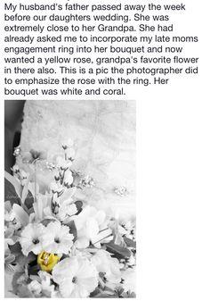 Wedding Memorial, Passed Away, Yellow Roses, Bouquet, Flowers, Outdoor, Outdoors, Bouquet Of Flowers, Bouquets