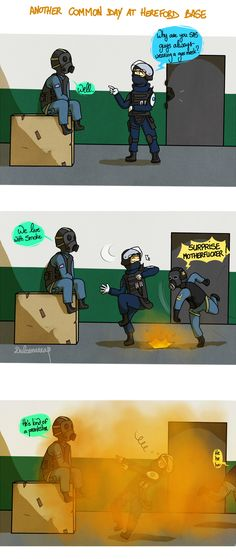 Rainbow 6: Smoke by Dulcamarra