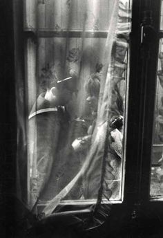 Les Adieux, Paris, 1963 Willy Ronis