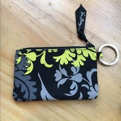 Vera Bradley ID case Black, grey and green ID case. Never been used. Vera Bradley Other