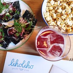 Liholiho Yacht Club in San Francisco, CA Heritage driven food with California ingredients in downtown San Francisco. Full bar, open kitchen, friendly staff, and fun atmosphere. Aloha!