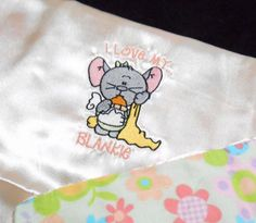 Security Blanket Toddler Carry Lovie Baby by arizonathreads