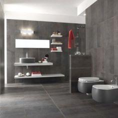 modern and minimalist grey bathroom designs