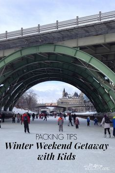 Packing Tips for a Winter Weekend Getaway with Kids - Traveling light is no small feat with children. However, we've got some helpful tips and tricks to accomplish the impossible. Let us help you pack for your upcoming winter weekend away. | #KidsOnAPlane #TravelTips #HowToPack #PackingLightly #TravelTipsForKids #TravelTipsForFamilies #WeekendGetaway