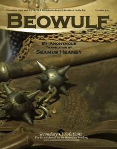 This Secondary Solutions Literature Guide for Beowulf contains 164 pages of student coursework, quizzes, tests, and teacher resources aligned with Common Core Standards... $24.95