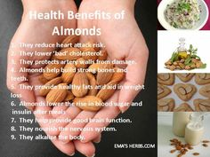 Almonds amazing... daily. Pure food.