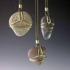 Resultado de imagen para how to wire wrap stones for beginners