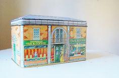 Vintage Tin House Cafe Cottage Decor