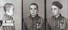 Wilhelm Brasse, Hersz Kinstler, jüdischer, politischer, polnischer Häftling, kam 03.02.1942 aus dem Pawiak - Gefängnis in Warschau nach Auschwitz.