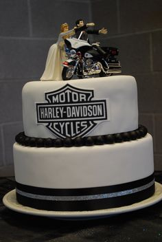 Harley Davidson Cake See More Our Wedding