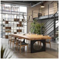 Warehouse Office, Warehouse Design, Loft Office, Small Office, Industrial Office Design, Office Interior Design, Office Interiors, Office Designs, Modern Industrial