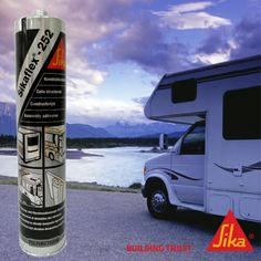 Did anyone else see the new packaging for the #Sikaflex 252 in #Bunnings stores this weekend? Perfect for use in a #caravan to seal your joins and stop vibrations! ow.ly/nPqIR