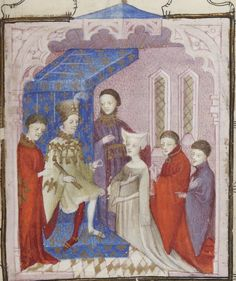 Recueil des oeuvres de « CHRISTINE DE PISAN ». Tome I. Auteur : Christine de Pisan (1363?-1431?). Auteur du texte Date d'édition : 1401-1500 Type : manuscrit Medieval Times, Medieval Art, Statues, Dance Project, Renaissance Clothing, 15th Century, Roman, Illuminated Manuscript, Female Images