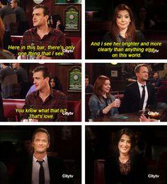 Barney & Robin :) #himym #howimetyourmother