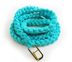 Handamde Thin Cotton Belt