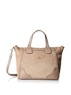 COACH, Coach Mickie Satchel In Suede, Light Gold/Stone, was $495, � Handbag  SaleDepartment ...