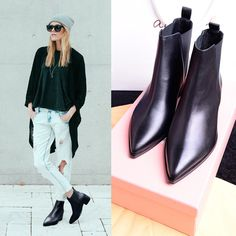 Find More Boots Information about Women genuine leather Pointed Toe ankle boots heels Female high heels boots Fashion leather boots autumn suede boots shoes woman,High Quality Boots from Lori Fashion Shoes on Aliexpress.com